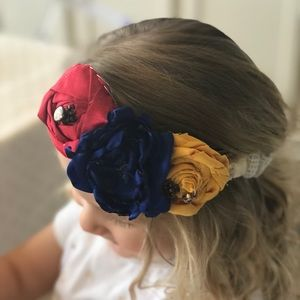 Other - Hand made flowers head band